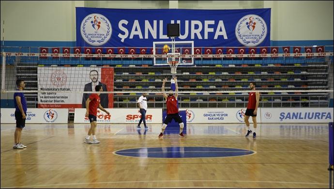 Haliliye Belediyespor'da Galatasaray Maçı Hazırlıkları-(VİDEO)