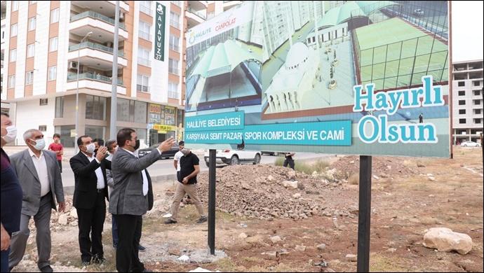 Haliliye'de söz verilen projeler bir bir hayata geçiriliyor-(VİDEO)