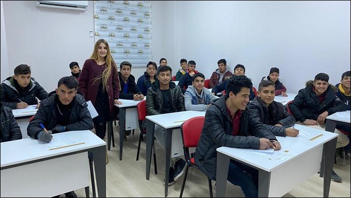 Harran Belediyesi Kültür ve Gençlik Merkezinde Kış Kursları