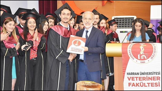 Harran Üniversitesi Veteriner Fakültesi'nde Mesleki Yemin Töreni Yapıldı
