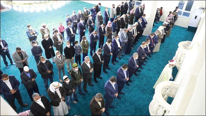 Harran'da Ramazan Ayı Cami Açılışı İle Karşılandı