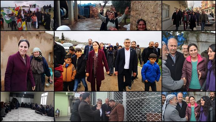 HDP, Şanlıurfa'da Seçim Çalışmalarına Devam Ediyor