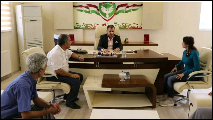 HDP'den Amedspor'a ziyaret