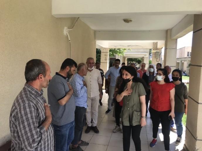 HDP'li Günay, Mardin'de esnaf ve çiftçilerin sorunlarını dinledi