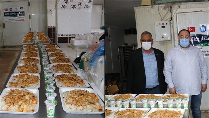 Hergün 300 Aile 1200 Kişiye Sıcak Yemek