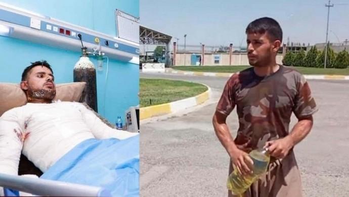 Hewlêr'de kendini ateşe veren Mahmudî yaşamını yitirdi