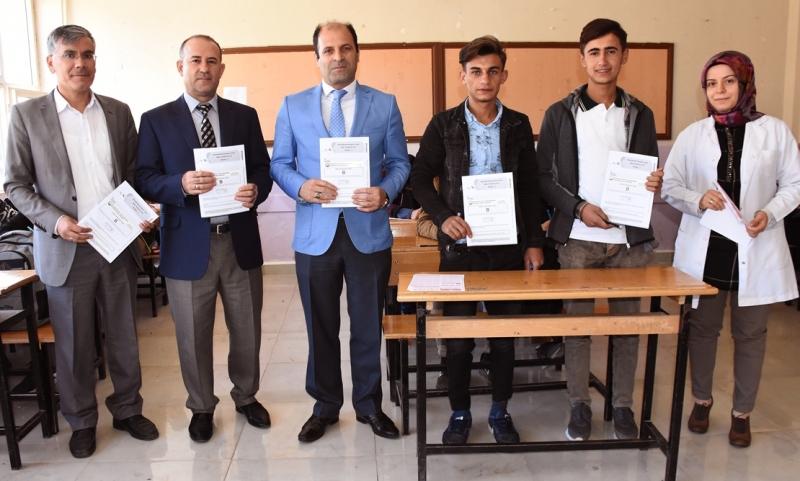 Hilvan Belediyesinden Eğitime Sınavlı Destek