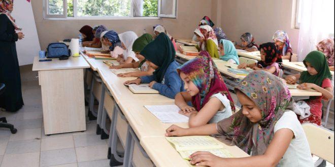 Hilvan'da Yaz Okulu Kuran Kursuna Yoğun ilgi