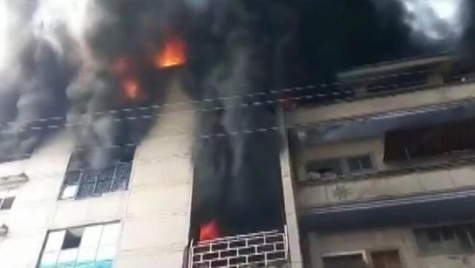 Hindistan'da fabrikada yangın: 15 işçi öldü