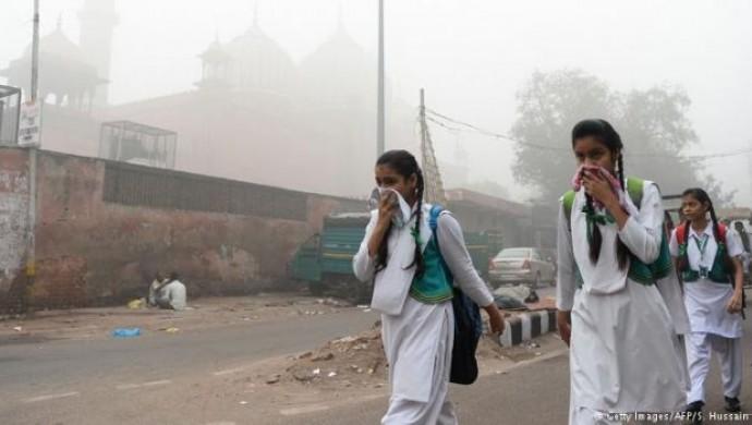 Hindistan'da hava kirliliği nedeniyle acil durum ilanı