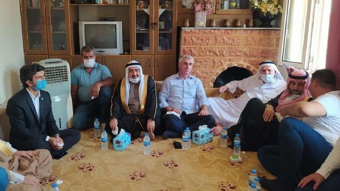 HÜDA PAR girişimiyle Akçakale'deki husumetli aileler barıştırıldı