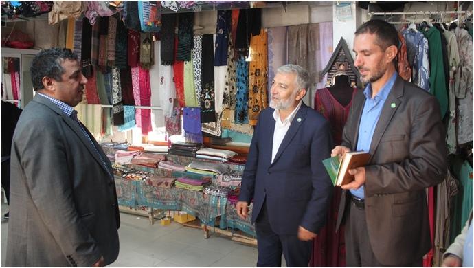 Hüda Par Şanlıurfa İl Başkanlığından Şurkav Esnafına Ziyaret