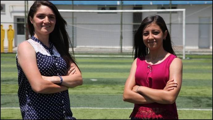 İki kadın antrenör futbolda eril anlayışa karşı mücadele edecek