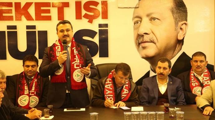 İl Başkanı Yıldız'dan Baydilli'nin Seçim Bürosuna Ziyaret