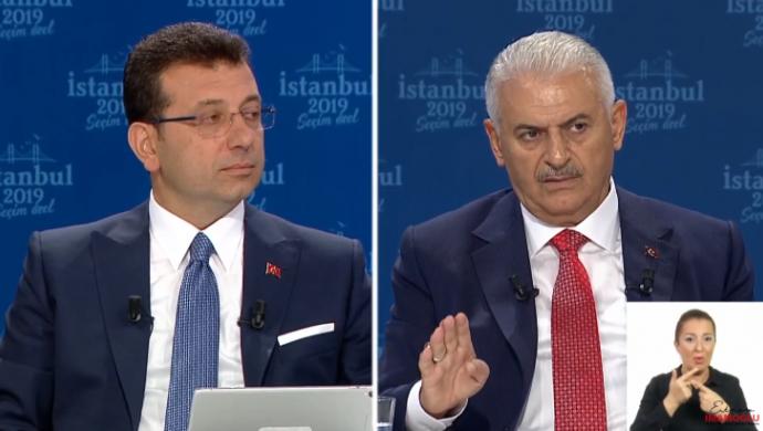 İmamoğlu ve Yıldırım canlı yayında İstanbul için vaatlerini anlattı