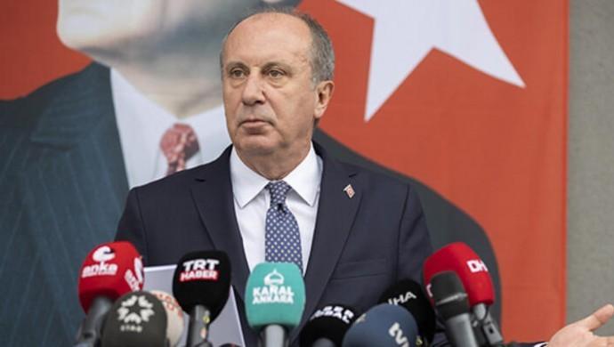 İnce CHP'den istifa etti