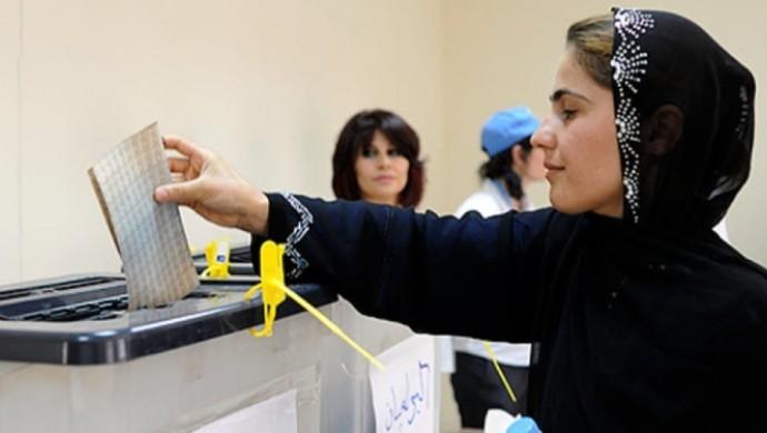 Irak seçimlerinde 97 kadın parlamentoya girdi