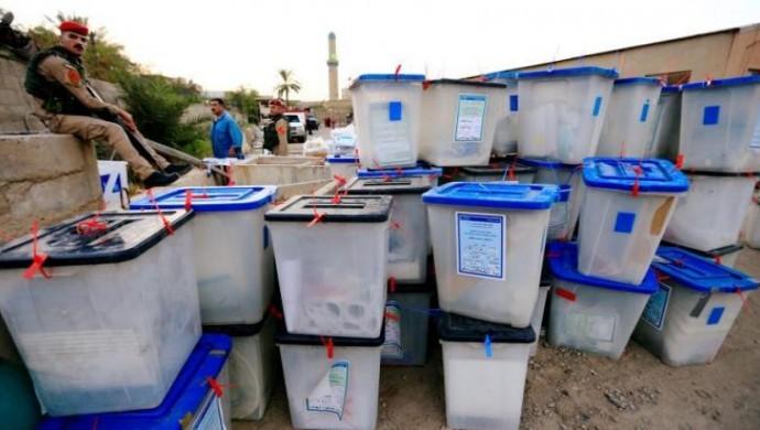 Irak'ta kurulan sandıklar kapandı