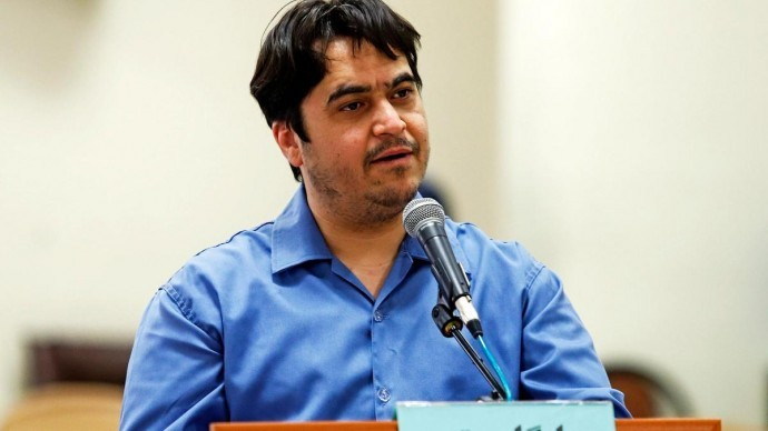 İran'da gazeteci Zam'a idam cezası verildi
