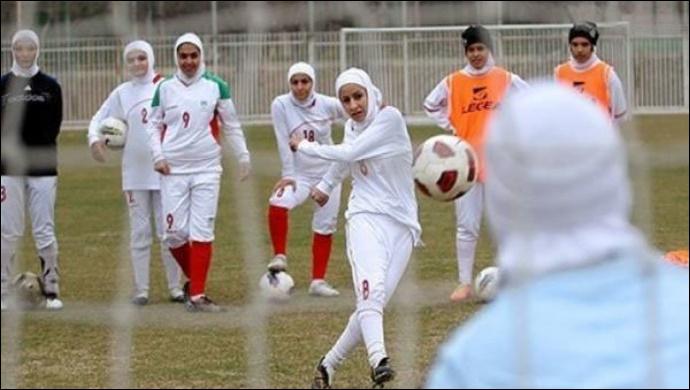 İranlı kadın futbolcular dünya sıralamasında