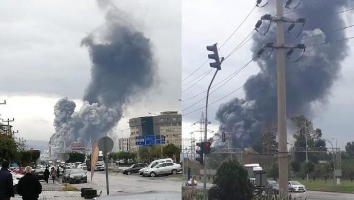 İSDEMİR'den patlama