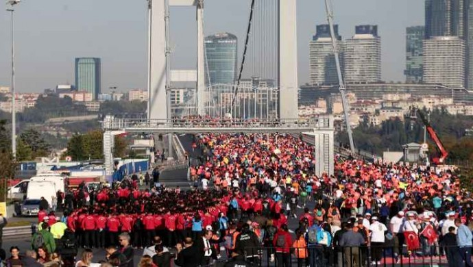 İstanbul Maratonu'nun startı verildi