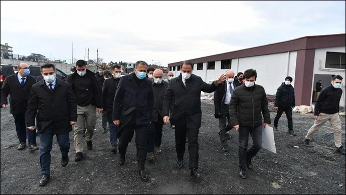İstanbul Valisi'nden Beylikdüzü'ne Ziyaret