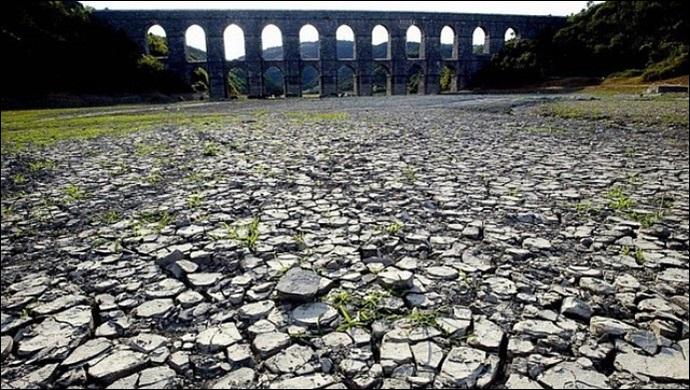 İstanbul'un suyu tükeniyor