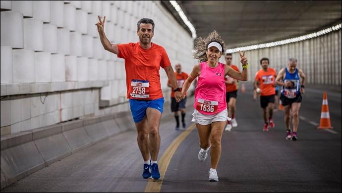 İzmir Yarı Maratonu'nda zafer Kenya ve Etiyopyalı atletlerin-(Fotolu-Haber)