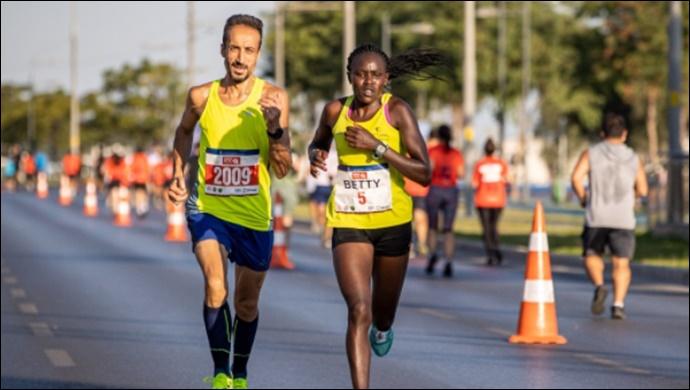 İzmir Yarı Maratonu'nda zafer Kenya ve Etiyopyalı atletlerin