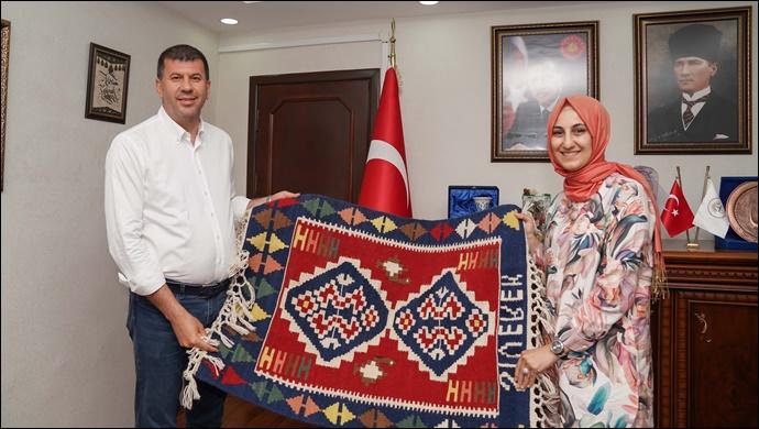 Kadıköy Belediye Başkanı Odabaşı'ndan Başkan Ayşe Çakmak'a ziyaret