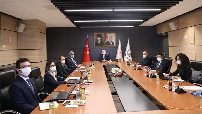 Karacadağ Kalkınma Ajansı Yönetim Kurulu Diyarbakır'da Bir Araya geldi