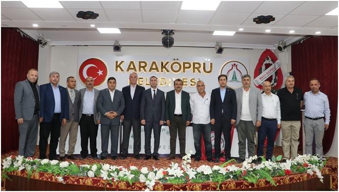 Karaköprü Belediyespor'da Aslan Ve Yönetimi Güven Tazeledi-(Video)