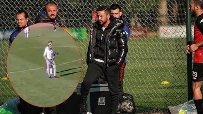 Karaköprü Belediyespor maçında sahaya dalmıştı! Gökhan Çıra'ya ceza yağdı