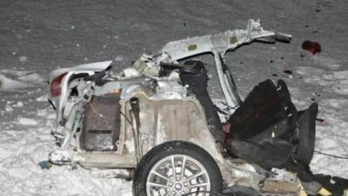 Karlıova'da trafik kazası: 1 ölü, 2 yaralı