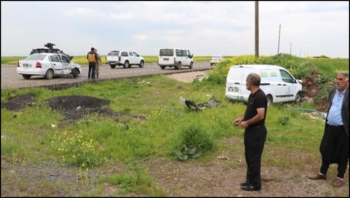 Kazada 4 yolcu ile birlikte yavru köpek de yaralandı