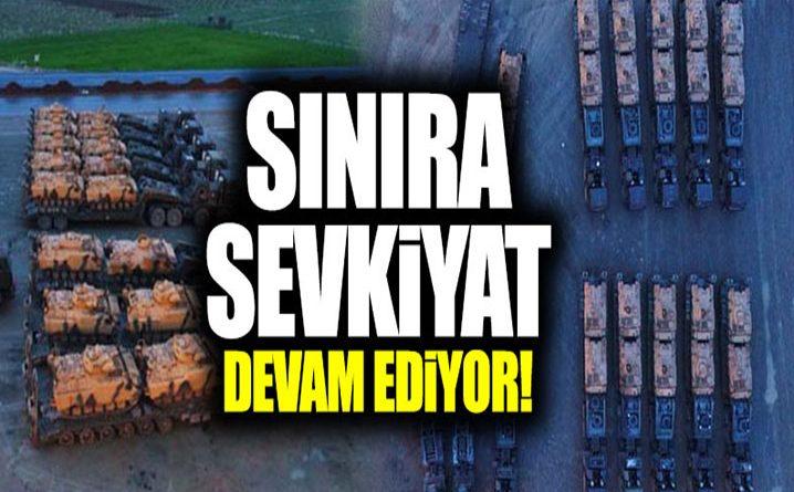 Kilis'ten Şanlıurfa'ya askeri sevkiyat