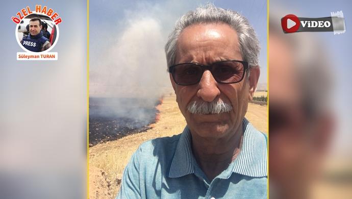 """Kızıltepe ÇEV-GÖN Başkanı Çakar'dan """"anız yangılarına"""" tepki!"""