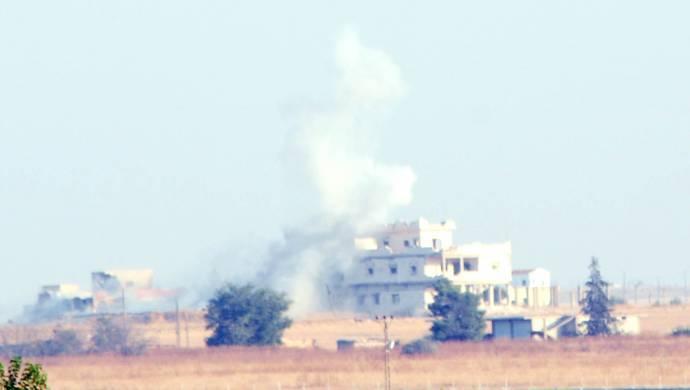 Kobanê'de bombardıman, Serêkaniyê'de çatışma