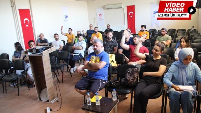 Kurs başladı: Geleceğin antrenörleri Urfa'da yetişecek
