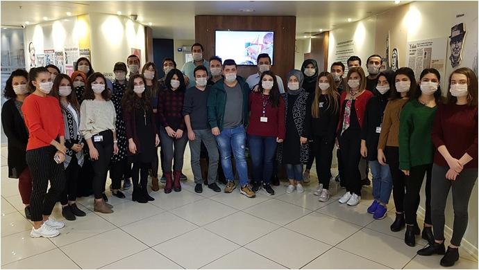 """Lösemili çocuklar için """"maskeni tak fotoğrafını paylaş"""" etkinliği düzenlendi"""