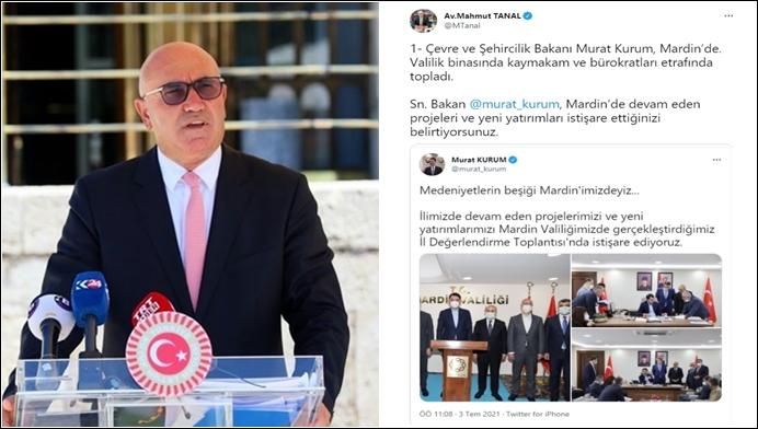 Mardin'e Gelen Bakana CHP'li Vekil Sürprizi!