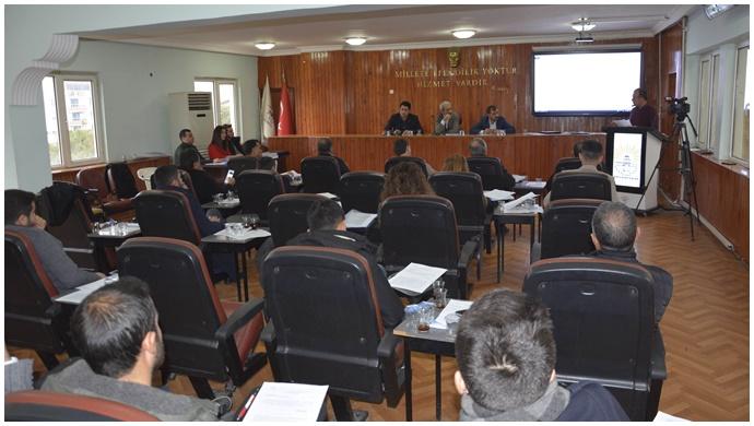 Meclis toplantısı iki oturumla tamamlandı