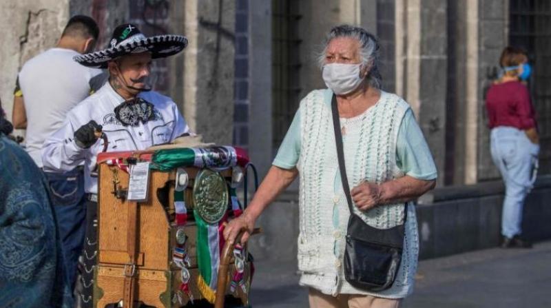 Meksika'da can kaybı 70 bini geçti