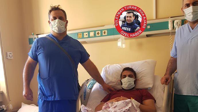 Mersin'de kaza yaptı: Aradığı şifayı Urfa'da buldu