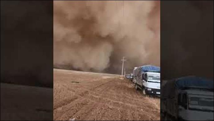 Meteoroloji uyardı: Bugün de Urfa'da etkili olması bekleniyor