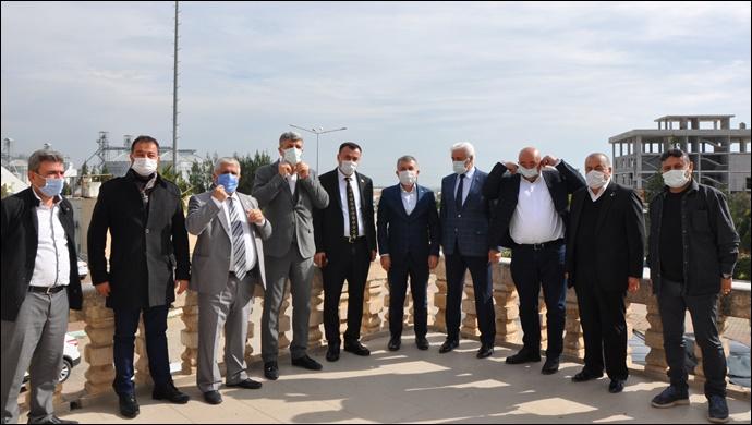 MHP İL Başkanı Bozkuş'tan MTDF' ye Ziyaret