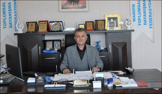 MTDF. Başkanı Öter 'in Bayram Mesajı