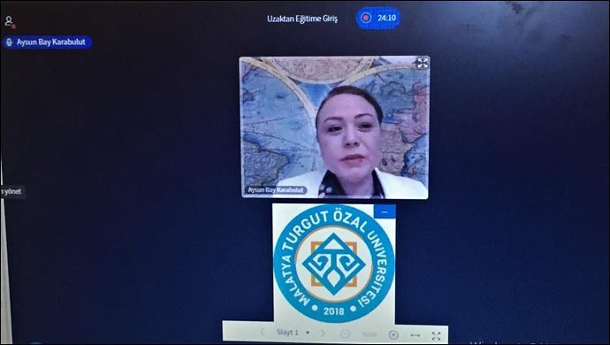 """MTÜ'de  """"Uzaktan Eğitim"""" başladı-(VİDEO)"""