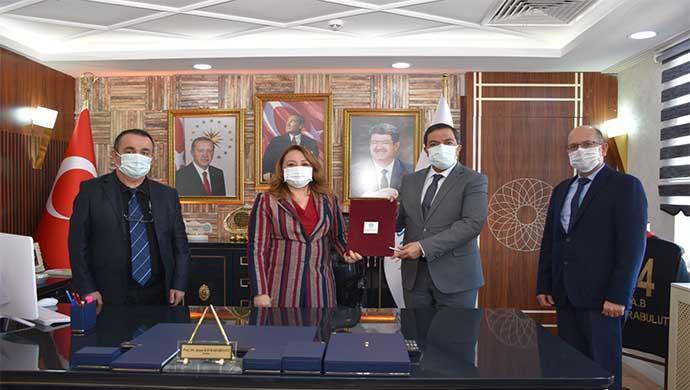 MTÜ'den Arapgir Belediyesi ile Protokol, İl Sağlık Müdürlüğü ile Birlikte Kullanım